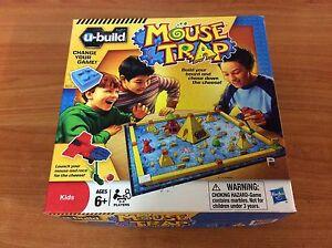 2010 Board Game - Mouse Trap U-Build  - 100% complete
