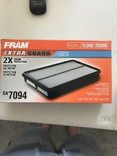 Fram CA7094 Saturn 1.9 Extra Guard 2X Engine Protection Air Filter NEW in BOX