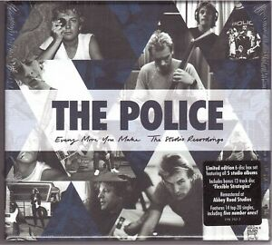 The Police - Every Move You Make (6xCD 2019) - Limited edition 6-disc Boxset NEU