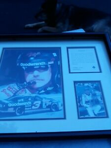 DALE EARNHARDT FRAMED PICTURE - LIMITED EDITION - KELLY RUSSELL SPORTS
