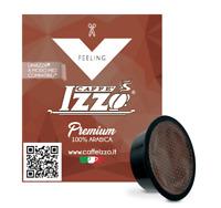 100 CAPSULE CAFFE IZZO MISCELA PREMIUM COMPATIBILI LAVAZZA A MODO MIO