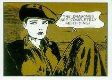 Guido Crepax Postcard: Louise Brooks 'The Drawings...' (France, 1985)