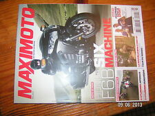 *** Maximoto n°129 Honda Six F6B Bmw R 1200 GS Solex 3800 CB 500F NC700S ER-6n