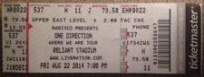 One Direction Tickets 08/22/14 (Houston)