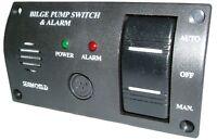 Seaworld 12v Bilge Pump Control Switch with Alarm - Marine / Boat / Sailing