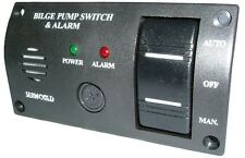Seaworld 12v Bilge Pump Control Switch with Alarm - Marine / Boat / Sailing