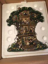Vintage Danbury Mint Boyds Bears Tree House In original box/packing