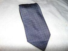 BRAND New GUCCI  Men's Logo  GG Woven 100% Silk Tie Blue Gray  $249