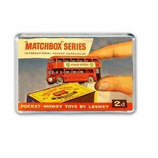 RETRO 1960's  MATCHBOX CATALOGUE' ARTWORK JUMBO FRIDGE  / LOCKER MAGNET