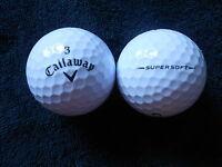 "20 CALLAWAY ""SUPERSOFT"" BLACK TICK  - Golf Balls - ""A"" Grade."