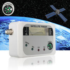 Digital Satellite Finder SF-9508 Signal Meter Sat Dish Finder DVB-T w/Compass