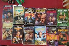 More details for star trek next generation books x47 paperback novels