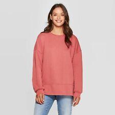 Women's Fleece Tunic Pullover Sweatshirt - Universal Thread Rose