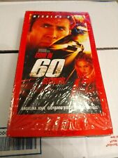Gone in 60 Seconds (VHS, 2001, Exclusive Video Bonus Edition) Angelina Jolie