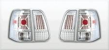 2003-2006 Lincoln Navigator L.E.D. LOOK TAIL LIGHTS CHROME  4PC Rear Lamp