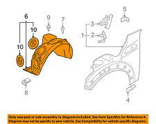 MINI OEM 07-15 Cooper-Front Fender Liner Splash Shield Right 51717207578