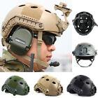 Helm Schutzhelm Taktische Softair Sturzhelm für Jagd Militär Unisex Einstellbar
