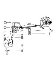 Genuine Mopar Anti-Lock Brake System Module 68089568Ac