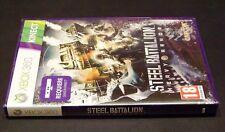 """JUEGO """"KINECT STEEL BATTALION - HEAVY ARMOR"""" PARA XBOX 360 NUEVO"""