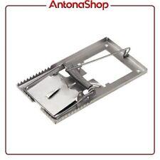 Trappola per TOPI in metallo esca semplice e senza veleno efficace 9x5 cm