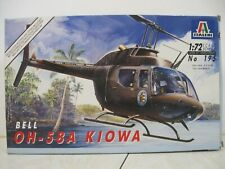 Italeri 1/72 Bell Oh-58A Kiowa Helicopter #195