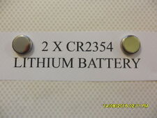 2 X CR2354 3V LITHIUM BATTERY 2,5,10,20 AVAILABLE EXP12/2020  WATCH CAMERA TR