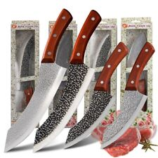 KITCHEN KNIFE Forged Handmade Camping Outdoor Chef knives Best Cooking Tool