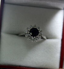 0.48 Ct 100% Natural Diamonds (Real) Round Brilliant Cut 18 Kt White Gold Ring