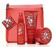 MARY KAY GLISTENING WINTERBERRY GIFT SET - LMT. EDITION - NEW 4 pc. set