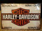 Harley-Davidson Vintage look metal sign New SEALED!