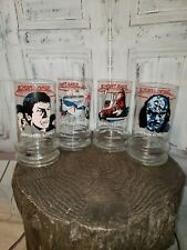 """Vintage Taco Bell Star Trek Iii """"The Search For Spock"""" 1984 Promo Glasses~3054~"""