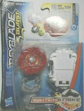 Beyblade hasbro burst turbo switch strike spinnin g toy 8+ red white silver new