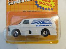 Matchbox 1987 FORD RACING VAN MB6 Automotive Superstars Die-Cast 1:62 Car Toy