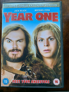 Year One DVD 2009 Caveman Movie Comedy with Jack Black and Michael Cera