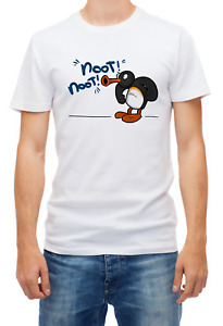 Angry Pingu Noot Noot Motherf*ckers T-shirt Short Sleeve Fashion For Men's K255