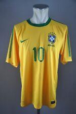 Brasilien Trikot Gr. L Nike #10 Kaka Jersey 2010 Home Brazil maglia CBF