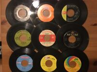 60's Pop-Rock 45 Lot: Herman's Hermits/ The Association/ The Monkees/ Archies..