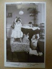 Theatre Actors RP Postcard-EDWARD GARRATT & SYDNEY FAIRBROTHER in LITTLE STANGER