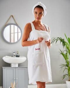 SIMPLY BE Towel Sarong Gift Set 'Personalised' OLIVIA  Small/Medium  (FS100-2)