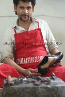 Chaussures richelieu à lacets Oxford en cuir véritable noir, beige et marron