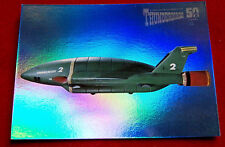 THUNDERBIRDS 50 Years - COMPLETE CHASE SET of 10 Mirror Foil Cards - Unstoppable