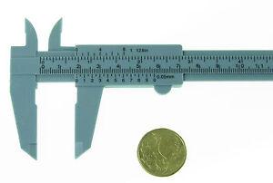 "Plastic Caliper  Measure  Gauge  Sliding Vernier  0-150mm  6"" FAST FROM SYDNEY"