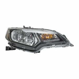 TYC Right Passenger Side Headlight Lamp Assembly for Honda Fit 2015-2017