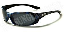Sunglasses New Kids Sport Shades Wraps Xloop UV400 Boys Girls Blue Black KD3505
