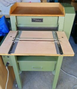 Foellmer45 ME Nutmaschine Rillmaschine