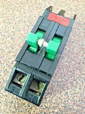 Zinsco 100 Amp Type Q Breaker 2-Pole Thick Series Green Handle