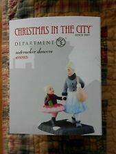 Dept 56 Christmas In The City Accessory Nutcracker Dancers Nib
