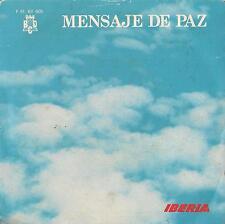 DISCO 45 Giri   IBERIA - MENSAJE DE PAZ