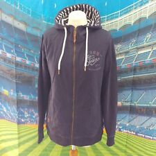 """Fat Face Navy Blue Heritage Hoodie. 19"""" pit-to-pit, 26"""" Length, Size 14."""