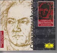 CD Complete Beethoven Edition Sampler compactotheque 1997 DGG